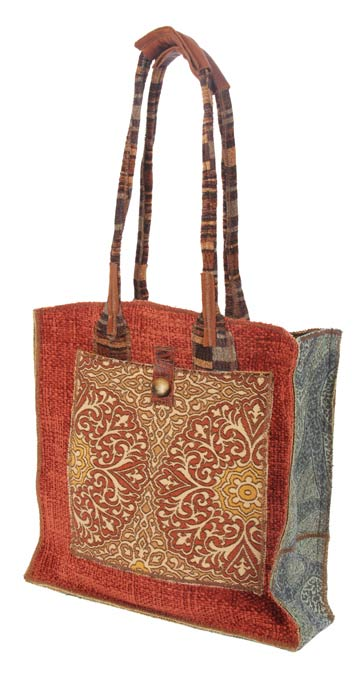 Melissa; tote, front